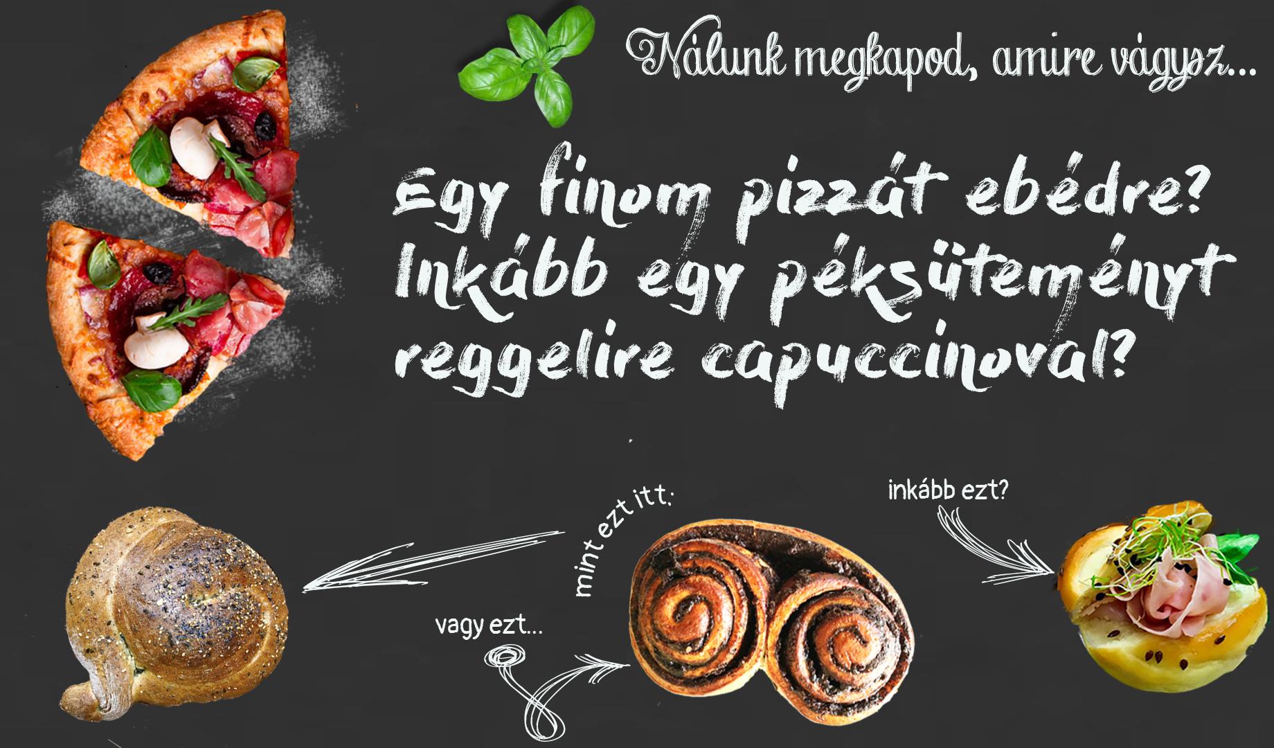 Bazsalikom Pékség és Pizzeria